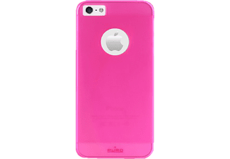 PU-006266 Rainbow Backcover Apple iPhone 5, iPhone 5s Polycarbonat Rosa