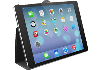 MACALLY Protective case and stand Ipad Air svart