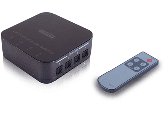 marmitek connect ts41 toslink switch 4 ports kopen mediamarkt. Black Bedroom Furniture Sets. Home Design Ideas