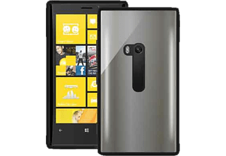 PU-006321 Back Case Clear Backcover Microsoft Lumia 920 Polycarbonat Schwarz