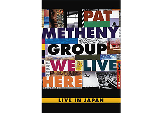 Pat Metheny - We Live Here - Live In Japan 1995 (DVD)