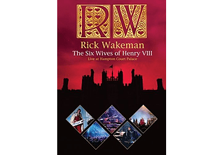 Rick Wakeman - The Six Wives of Henry VIII - Live at Hampton Court Palace (DVD)