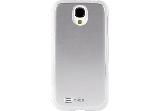 PURO PU-006624 Back Case + Screen Guard Metal, Hartschale, Galaxy S4, Weiß