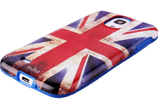 PURO PU-007203 Back Case Flag, Backcover, Galaxy S4, UK-Flagge