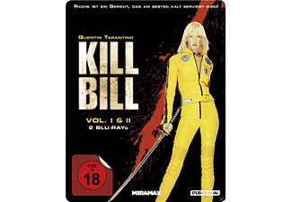 Kill Bill - Vol. 1 & 2 (Steelbook Edition) - (Blu-ray)