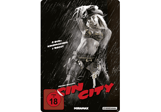 Sin City Steel Edition / Kinofassung & Recut (Steel Edition) [DVD]
