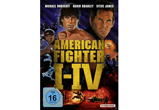 American Fighter 1 - 4 DVD-Box - (DVD)