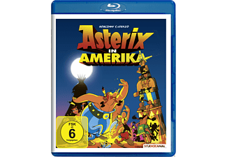 Asterix in Amerika - Die checken aus, die Indianer - (Blu-ray)