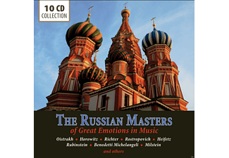 VARIOUS - The Russian Masters In Music [CD]