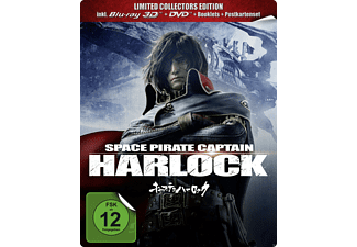 Space Pirate Captain Harlock BD 3D/2D + DVD (Limited Collector's Edition) [3D Blu-ray (+2D)]