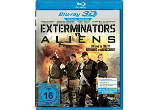 Exterminators vs. Aliens 3D [3D Blu-ray]