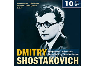 VARIOUS - Dmitry Shostakovich: Symphonies, Concertos, Piano [CD]