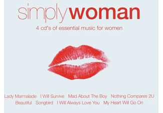 Various - Simply Woman [CD]