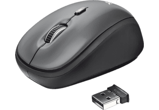 TRUST Yvi Wireless  Mouse Black - (18519)