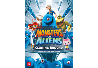 Monsters Vs. Aliens: Cloning Around | DVD