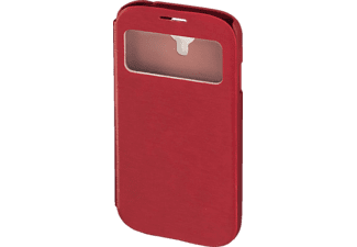 "HAMA ""Window"" Bookcover Samsung Galaxy S4 High-Tech-Polyurethan (PU) Rot"