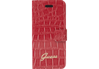 GUESS GU317549, Apple, Bookcover, iPhone 4, iPhone 4s, Kunstleder, Rot