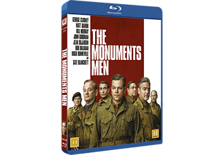 The Monuments Men Dramakomedi Blu-ray