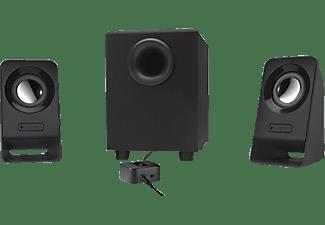logitech multimedia speakers z213 lautsprecher media markt. Black Bedroom Furniture Sets. Home Design Ideas