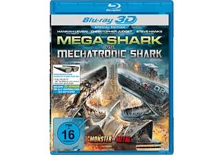 Mega Shark vs. Mechatronic Shark 3D [3D Blu-ray (+2D)]