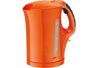 CLATRONIC WK 3445 Wasserkocher Orange (2200 Watt)