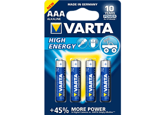 VARTA HIGH ENERGY AAA / LR03 BLS 4