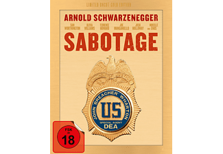 Sabotage (Exklusiv Media Markt Limited Uncut Edition SteelBook Gold) [Blu-ray]