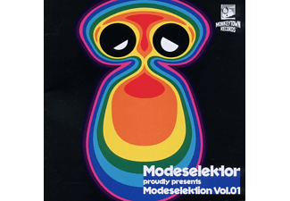 Modeselektor Proudly Presents - Modeselektion Vol.1 - (CD)