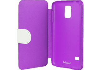 TELILEO 0043 Touch Case, Bookcover, Galaxy S5, Crystal-Lila