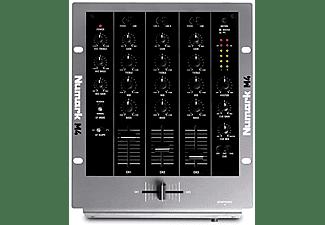 Numark 3-Channel Scratch Mixer, 2 x Phono-Line In, 4 x Line-In, Mic In, 3-Ban (M4)