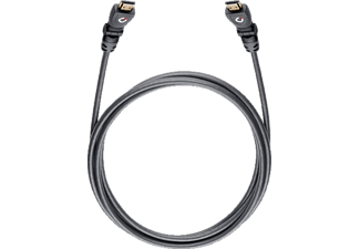 OEHLBACH 42465 Flex Magic-HS HDMI Kabel 1,2 m, HDMI Kabel, 1200 mm, Schwarz