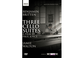 Jamie Walton - Three Suites For Cello - (DVD)