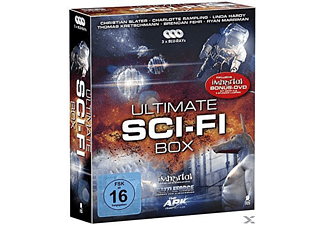 Ultimate Sci-Fi Box (Battle Force, The Ark, Immortal) [Blu-ray]