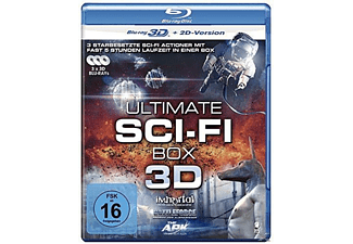 Ultimate Sci-Fi Box (Battle Force, The Ark, Immortal) [3D Blu-ray]