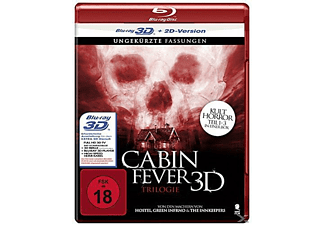 Cabin Fever 1-3 - (3D Blu-ray (+2D))