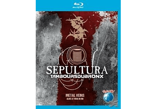 Sepultura/Les Tambours Du Bronx - Metal Veins-Alive At Rock In Rio [Blu-ray]