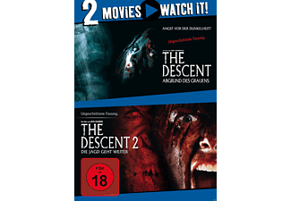 The Descent - Teil 1 & 2 [DVD]