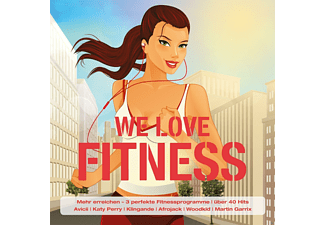VARIOUS - We Love Fitness - (CD)