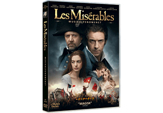Les Miserables Drama DVD