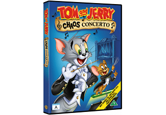 Tom and Jerry: Chaos Concerto Barn DVD
