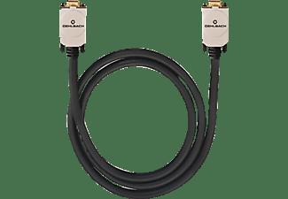 oehlbach vga verbindung 20 m vga kabel 20000 mm in schwarz kaufen saturn. Black Bedroom Furniture Sets. Home Design Ideas