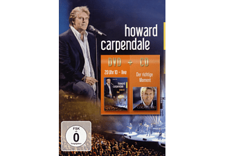 Howard Carpendale - 20 Uhr 10 - Live / Der Richtige Moment - (DVD + CD)