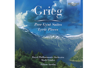 Emmler Mark, Haakon Austbö, Royal Philharmonic Orchestra - Grieg: Peer Gynt Suites - (CD)
