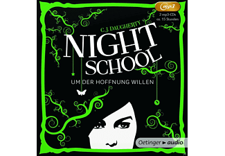 C.J. Daugherty - Um Der Hoffnung willen - (MP3-CD)