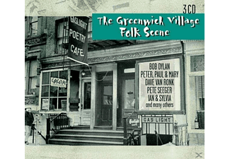 VARIOUS - The Greenwich Village Folk Scene - (CD)