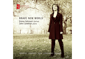 Emma Johnson, John Lenehan - Brave New World - (CD)