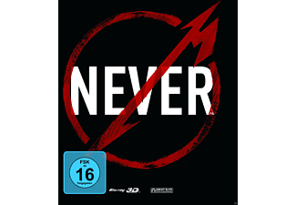 Metallica - Through The Never (Steelbook Edition Exclusiv +2D) - (3D Blu-ray)