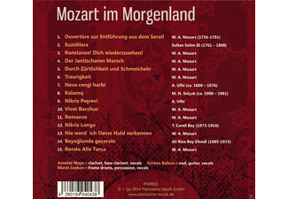 Ensemble Fisfüz - Mozart Im Morgenland - (CD)