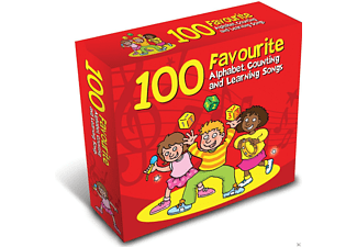 The Jamborees - 100 Favourite Alphabet, Counting & Learning Songs - (CD)