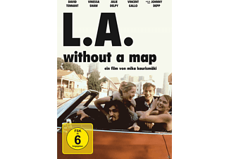 L.A. Without a Map - (DVD)